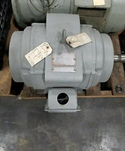 Delco U1100 25 Hp Electric Motor 1760rpm shipping Available 3029sr