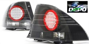 01 05 Lexus Is300 Altezza Black Led Tail Lights Depo