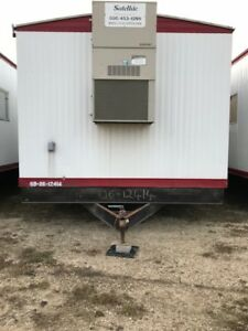 Used 12x60 Mobile Office Shop Trailer Sn 06 612414 Channahon Il