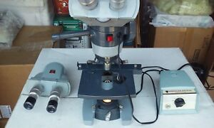Ao Spencer Microscope With 2 View Heads