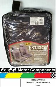 Seat Cover Universal Low back Buckets