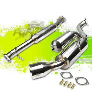 J2 4 5 Tip Hi power Catback Exhaust For 89 99 Mazda Miata Na B6ze 1 6l bp 1 8l
