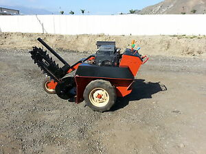 Ditch Witch 1820 Trencher Good Condition Ready To Work