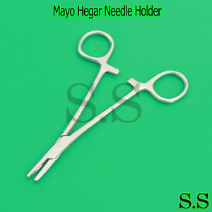 10 Mayo Hegar 6 Needle Holder Dental Surgical Stainless Steel Instruments
