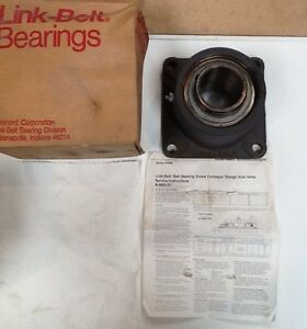 Link Belt Flange Bearings 2 7 16 Ff239n