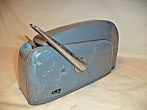 Vintage National Nashua Package Sealing Heavy Duty Wet Tape Dispenser 208 2a