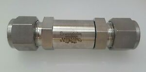 Swagelok New Stainless Steel Poppet Check Valve 1 2 In 10 Psig Ss 8c 10