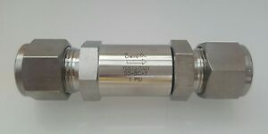 Swagelok New Stainless Steel Poppet Check Valve 1 2 In 1 Psig Ss 8c 1