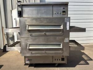 Refurbished Dominos Pizza Middleby Marshall Ps360q Double stacked Pizza Oven