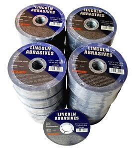 500 Pc 4 1 2 X 1 16 X 7 8 Cut Off Wheels Stainless Steel Metal Cutting Discs