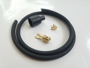 Black Cloth Replacement Maytag Gas Engine Motor Model 92 Spark Plug Wire Ends
