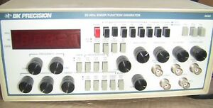 Bk Precision 4040 0 2 20 Mhz Sweep Function Generator