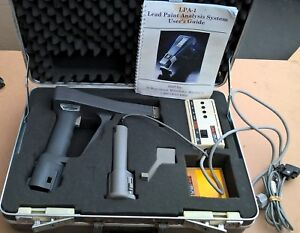 Rmd Lpa 1 Xrf Lead Paint Inspection Spectrum Analyzer With Case And Manual
