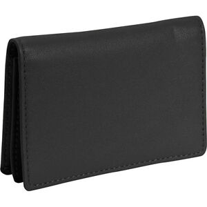 Royce Leather Business Card Holder Black Business Accessorie New
