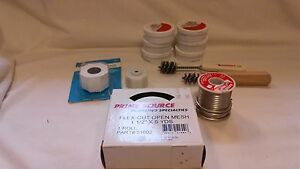 Plumbing Solder 125 Wire Brushes And Solder Paste Harveys Oatey And Others 1