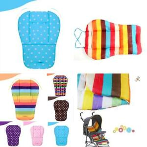 New Popular Thickened Rainbow Cart Accessories Cart Pad Baby Universal Cushion