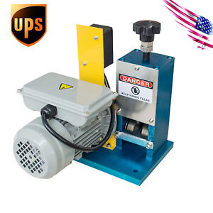 Us Delivery Electric Wire Stripping Stripper Motorized Copper Recycle Equipment