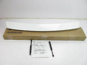 New Oem Factory Rear Trunk Lid Spoiler Cloud White For 07 09 Nissan Sentra