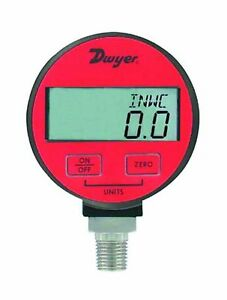 Dwyer Dpga Series Digital Pressure Gauge For Air And Compatible Gases Range 0