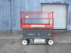 2015 Skyjack Sjiii 4632 Electric Slab Scissor Lift