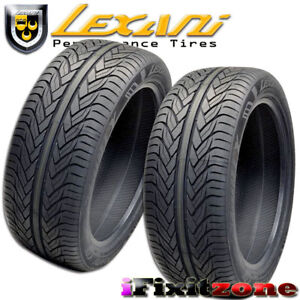 2 Lexani Lx Thirty 275 45r20 110v Xl Ultra High Performance Tires