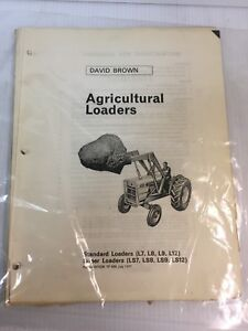 Case David Brown Tractor L7 L8 L9 L12 Ls7 Ls8 Ls9 Ls12 Parts Catalog