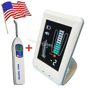 Usa Dental Apex Locator Finder Root Canal Meter Color Big Lcd Screen Pulp Tester