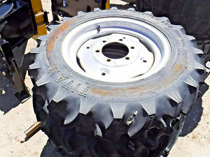 Tractor Tire 7 16 Tire R1 Sold As Set