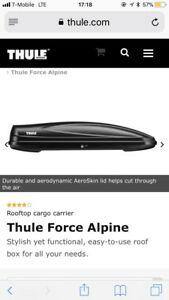 used Thule Force Alpine Cargo Box Good Working Condition