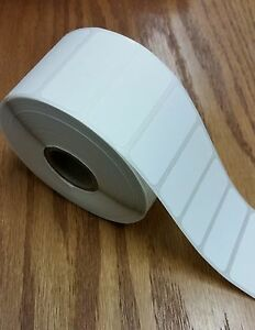 Direct Thermal 1 75 x0 75 Paper Barcode Labels For Zebra 2824 2844 6 Rolls