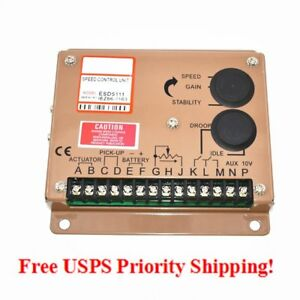 New Engine Speed Governor Controller Esd5111 Free Shipping From California