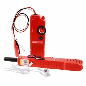 Telephone Cable Tracker Detector 110v Tester For Low Voltage Rechargeable