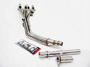 Obx Stainless Full Length Header For 84 87 Honda Prelude 2 0l 86 89 Accord