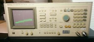 Anritsu Ms710e Spectrum Analyzer 100 Khz To 23 Ghz