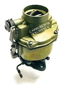 1950 1959 Chevy Gmc Remanufactured Rochester 1 Barrel Carburetor 235 Eng