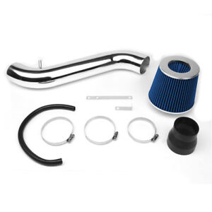 3 piping Short Ram Air Intake W blue Filter For 95 99 Eclipse 2 0l Non turbo