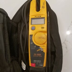 Fluke T5 1000 Voltage Continuity Current Electrical Tester Multimeter