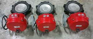 Bray Controls Electric Actuator Butterfly Valves 70 0200 113c 536 1323sr