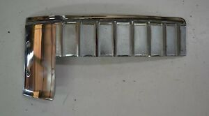 1957 58 Cadillac Superior Coach Hearse And Others Left Side Cast Trim Nos