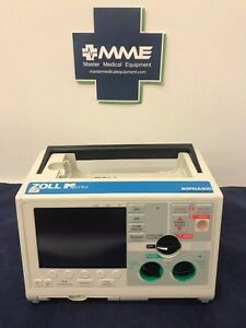 Zoll M Series Biphasic 3l Pacing Advisory Some Cosmetic Damage