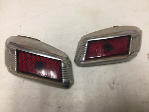 Pair Of 1941 Lincoln Zephyr Taillights