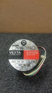 Oriental Motor Ph266l 33 a1 2 Phase 1 8deg step Dc 24 V Vexta Stepping Motor