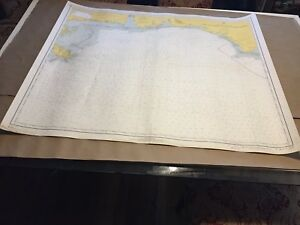 Vintage Nautical Chart Cape St George To Mississippi Passes C