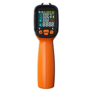 Digital Infrared Thermometer K Thermocouple Pyrometer Probe 58 1472 f