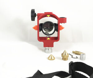 New Fdc066 Red Mini Prism 0 30mm For Topcon Sokkia Nikon Total Stations Survey