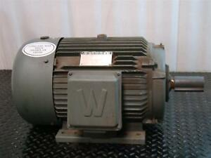 Worldwide Industrial Electrical Motor 3 Phase 10hp 230 460v 1180rpm Wwe10 12 256