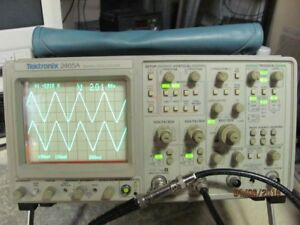 Tektronix 2465a 350mhz 4 Channel Oscilloscope Works Great