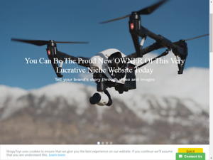 Drone Sales Website Business Opportunity Shop Potentialy Highly Profitable