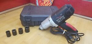 Hawk 1 2 Impact Wrench Electric Cordled In Hard Case With Four Sockets