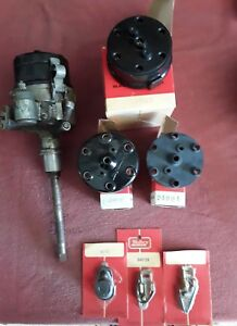 Used 1 Mallory Dual Point Distributors And Nos Parts Shown Fits Corvair